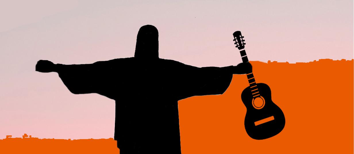 guitarra Brasil Slide