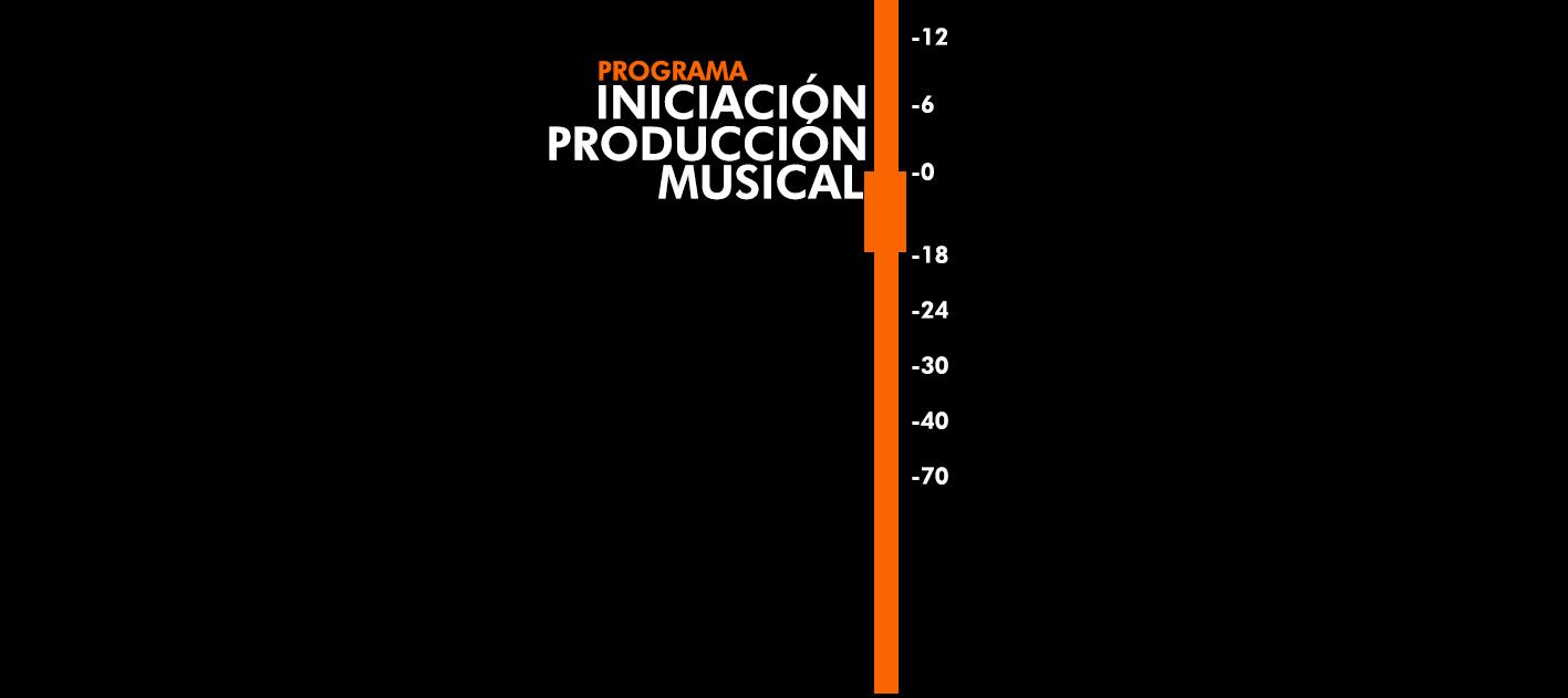 slide iniciación Producción